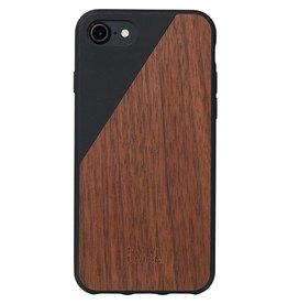 Native Union Native Union | iPhone 8/7/6/6s Clic Wood Case | CLIC-BLK-WD-7