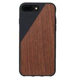 Native Union Native Union | iPhone 8/7/6/6s+ Clic Wooden Black | CLIC-BLK-WD-7P