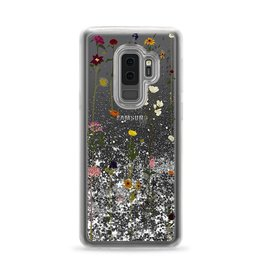 Casetify Casetify | Samsung Galaxy S9+ Glitter Case Floral (Silver) | 120-0965