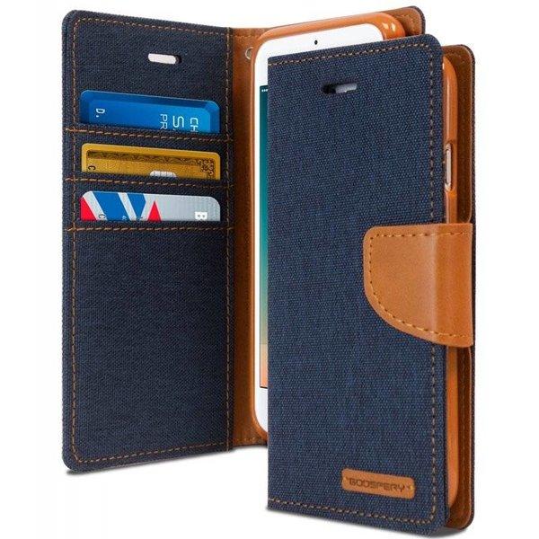 Étuis Canvas Diary pour iPhone 7 / 8 - Porte Carte