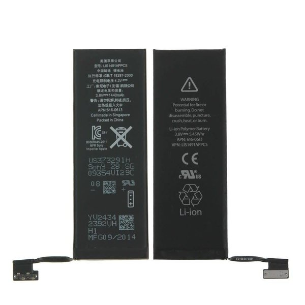 Batterie de remplacement pour iPhone 5C - Livraison rapide partout au Canada!