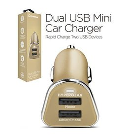 Hypergear HyperGear Dual USB Mini Car Charger