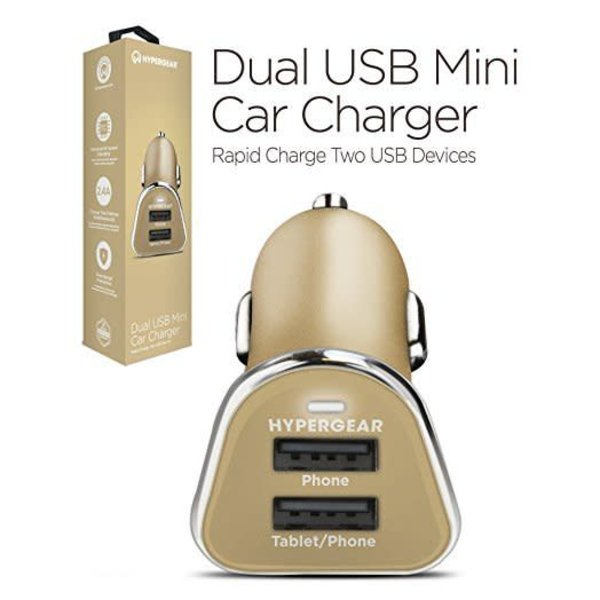 HyperGear Chargeur voiture double 2.4A