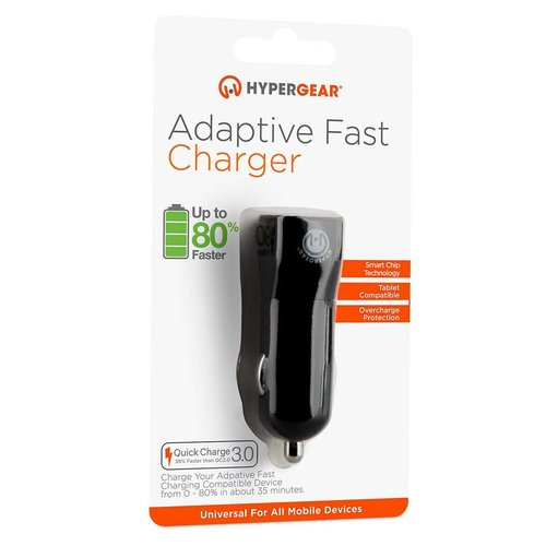Hypergear HyperGear Adaptive fast car charger 3.0