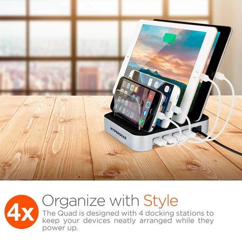 Hypergear HyperGear Desktop Quad Charger