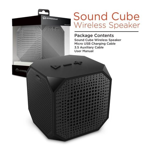 Hypergear Cube de Son - Haut Parleur Bluetooth