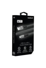 Naztech Câble USB à USB-C Tressé 4 pieds