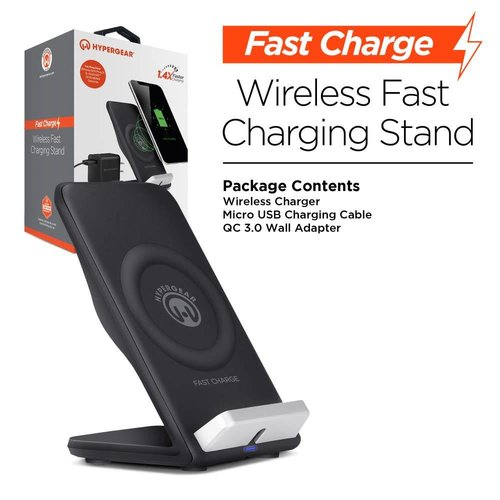 Hypergear Hypergear Fast Charge Wireless Stand - Black