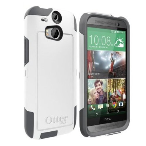 Otterbox Otterbox Commuter  HTC One M8 - White / Grey
