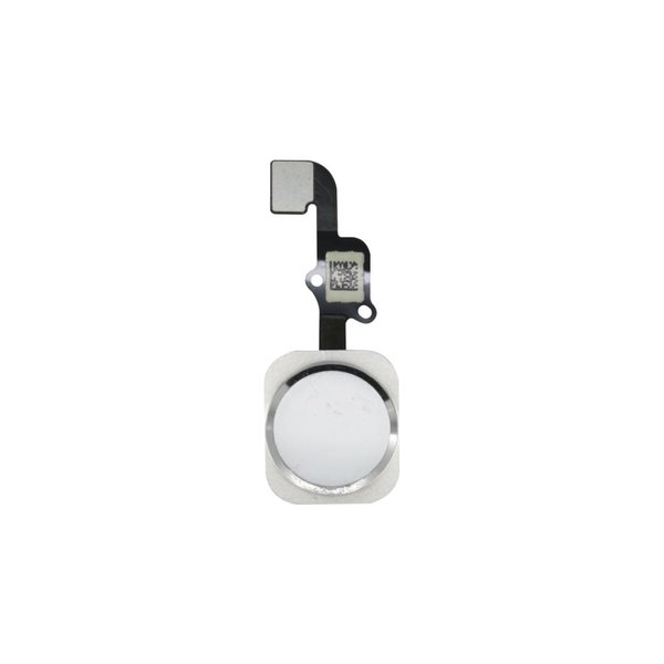 Module Bouton Home Argent - iPhone 6S