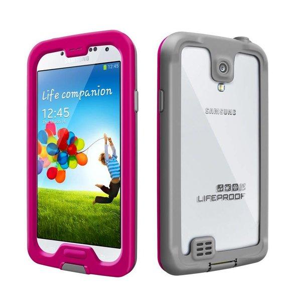 Étui Lifeproof NUUD pour Samsung Galaxy S4 - Rose - Livraison rapide partout au Canada!