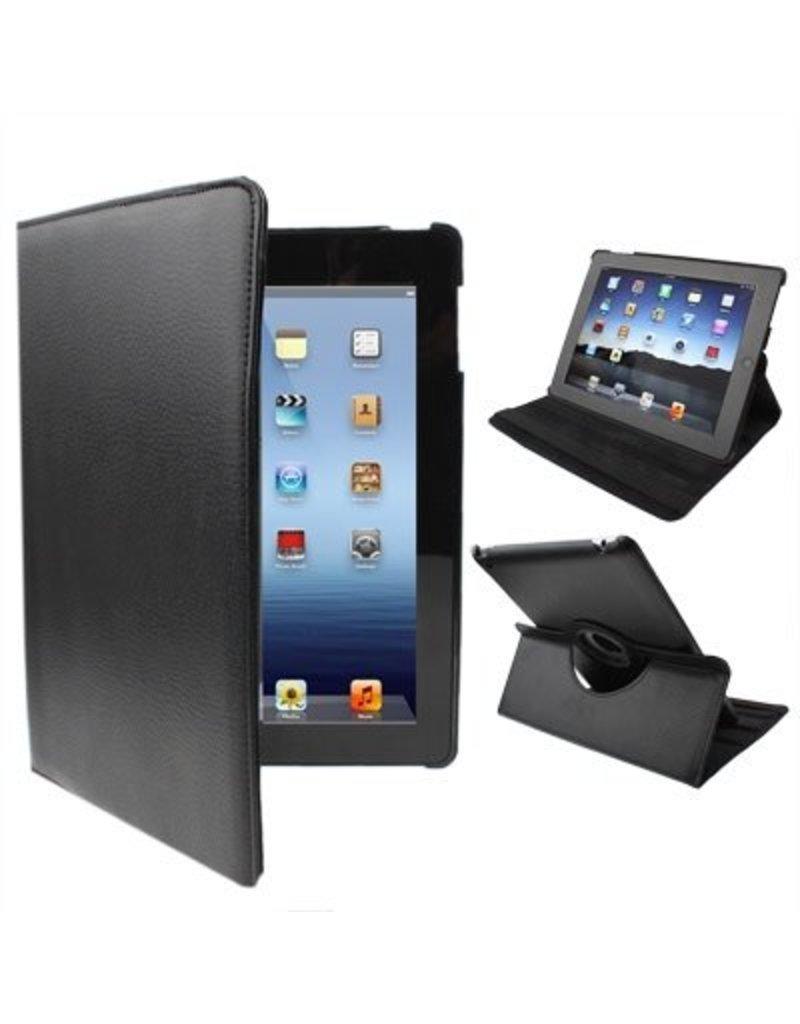 Étui 360 degrés en Cuir pour iPad 2 / 3 / 4  - Livraison rapide partout au Canada!