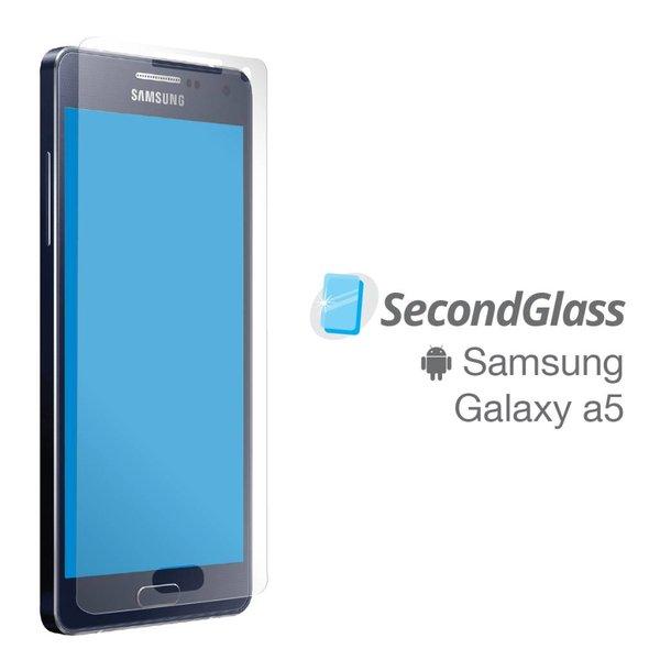 Vitre protectrice Second Glass pour Samsung Galaxy A5 en verre trempé par Mobile Expert Canada
