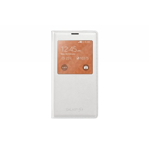 Wallet Window OEM Samsung S5 / S5 Neo - Blanc