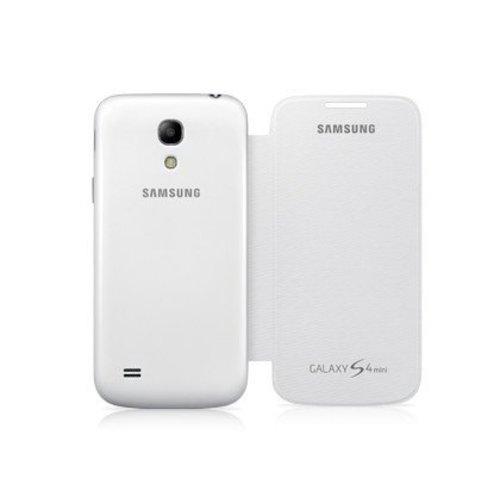 Samsung S4 Mini Flip Cover - Blanc
