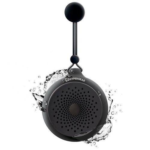 Hypergear Haut-Parleur Bluetooth HyperGear Résistant à l'Eau - Noir