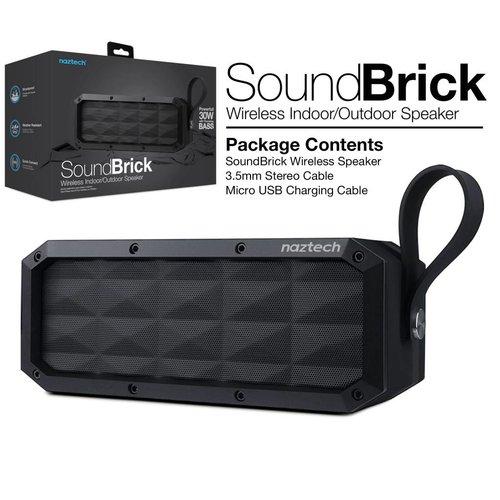 Naztech Naztech ''Sound Brick'' Haut Parleur Bluetooth 30W