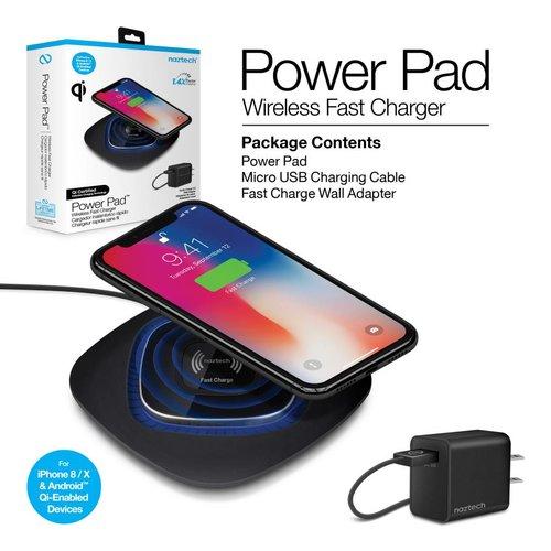 Naztech Naztech Power Pad Qi Wireless Fast Charger