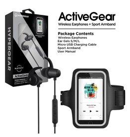 Hypergear HyperGear ActiveGear Wireless Earphones + Sport Armband Set