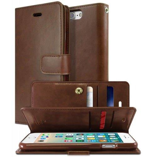 Goospery Étui Mansoor Diary pour iPhone 7 Plus / 8 Plus