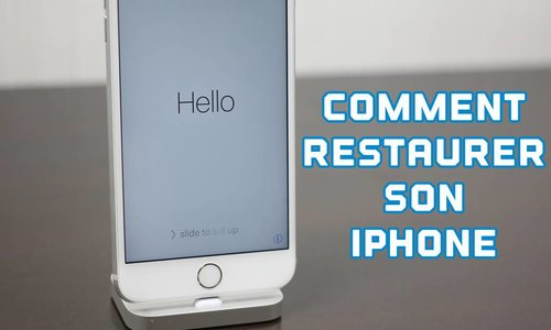 Comment restaurer son iPhone?