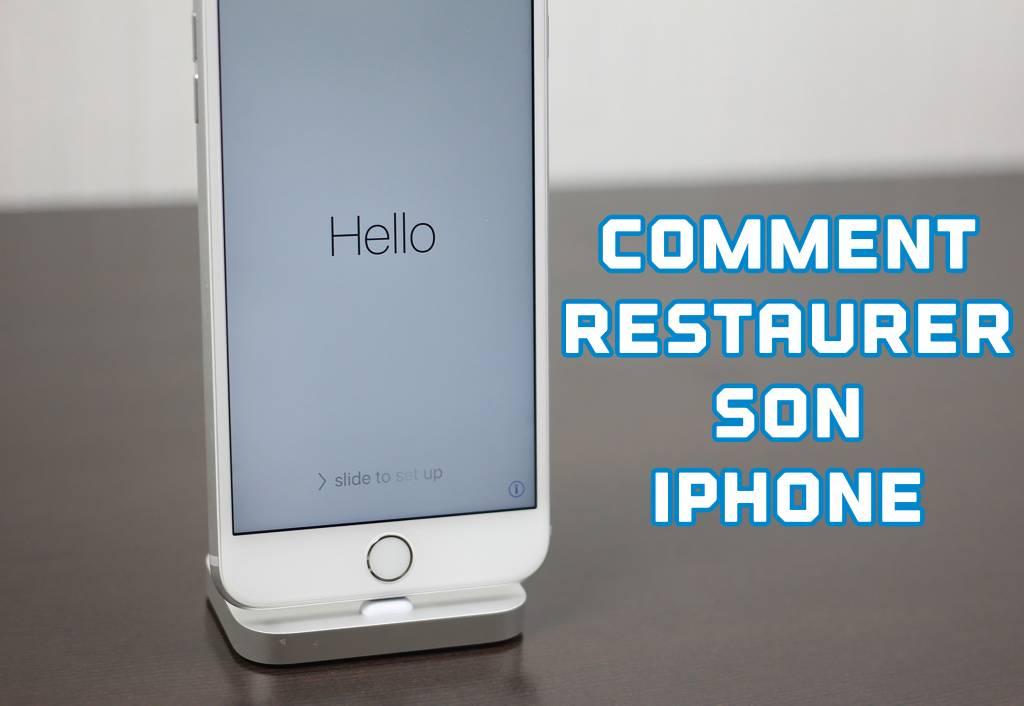 Comment restaurer son iPhone?