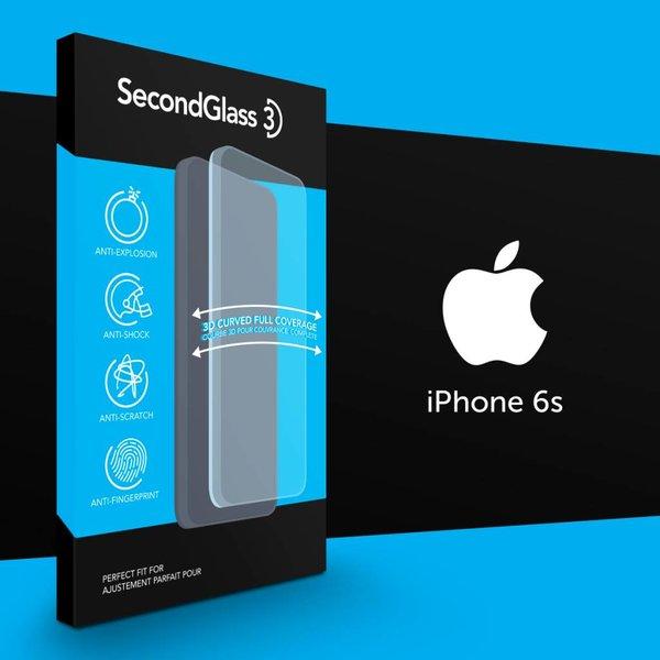 Vitre protectrice Second Glass 3D pour iPhone en verre trempé par Mobile Expert Canada