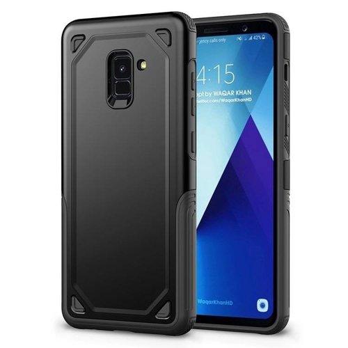 Étui Robuste Galaxy A8 Noir