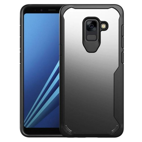 Étui Galaxy A8 - Shockproof Transparent