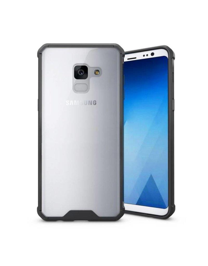 Étui Cadrage Shockproof Galaxy A8 Noir
