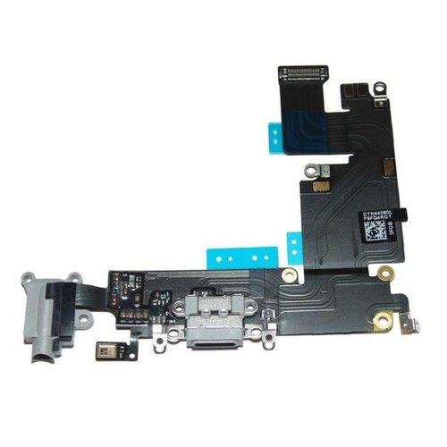 Apple 6G Charging port flex grey / gris