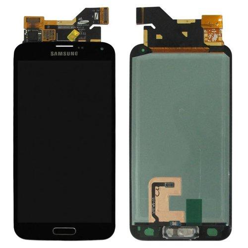 Samsung Galaxy S5 Vitre LCD Noir