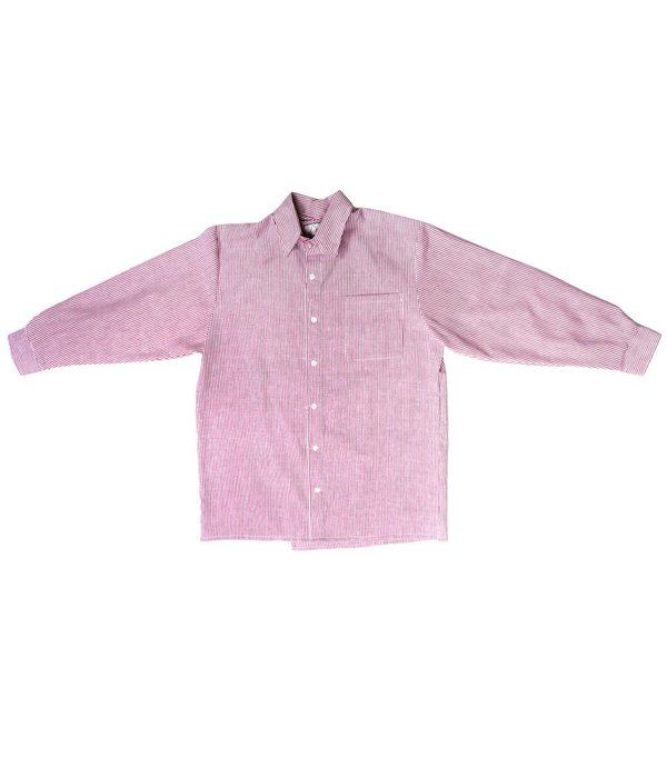 ACC Red Stripe Button Shirt