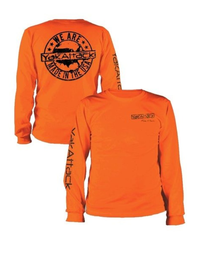 YakAttack YakAttack Making it Yours L/S (Orange) Lg