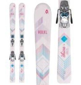 Marker/Volkl/Dalbello Volkl Chica Jr Alpine Skis (YTH) 17/18