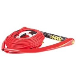 HO Sports Accurate Team Hdl w/A-Line Red M/L Wakeboard Rope (A) 2015