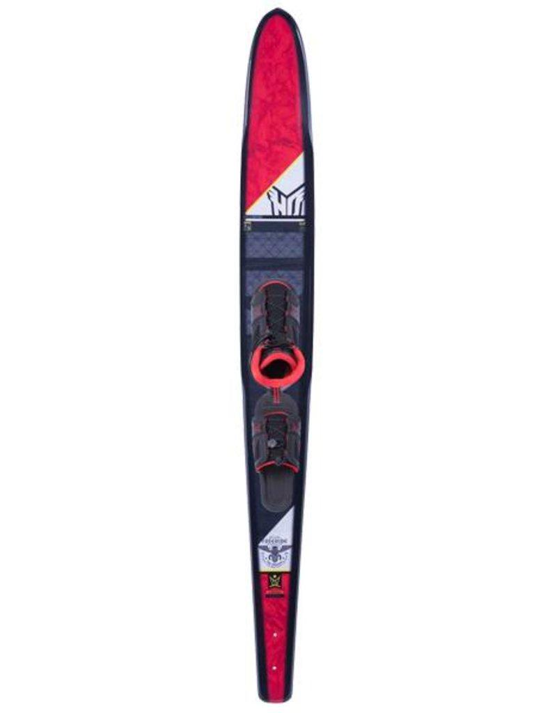 """HO Sports HO 71"""" Freeride Slalom Waterski w/FreeMax (10-15) ART Boot (A) 2018"""