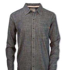 Purnell Purnell Stretch Chambrey Shirt (M)