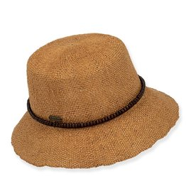 SUN N SAND Bryn Straw Hat