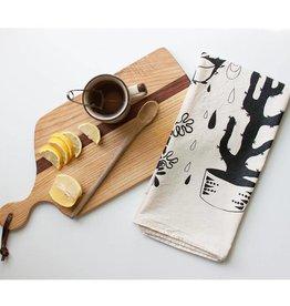 NATIVE BEAR Hearty Plants Tea Towel