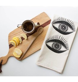 NATIVE BEAR Seeing Eye Tea Towel