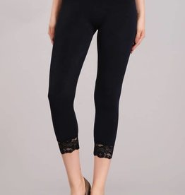 M.RENA Lace Crop Legging