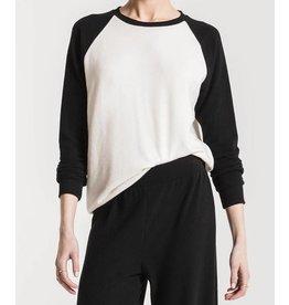 Z SUPPLY SHOP The Soft Spun Knit Raglan Pullover