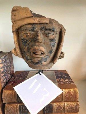Pre-Columbian terra-cotta head, Remojadas Culture, vera cruz, Mexico 300-500 ADKatrina Bust