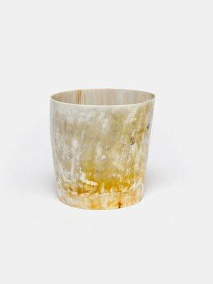 Vase- Water Buffalo Horn