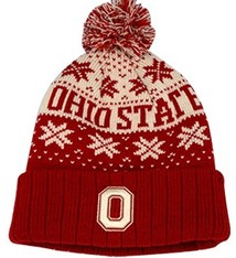 Top of the World Ohio State University Subarctic Cuffed Knit