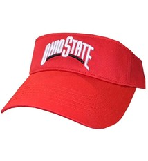 Ohio State University Red Visor