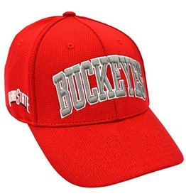 Top of the World Ohio State University Red Buckeyes Adjustable Hat
