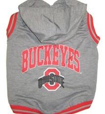Ohio State University Pet Hoodie Tee Shirt