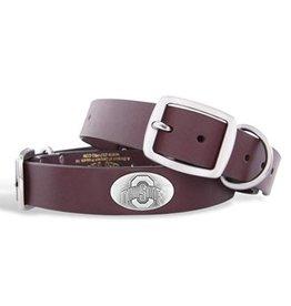 Ohio State University Concho Dog Collar (XL)